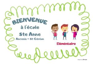 Elémentaire site Ste Anne