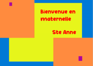 Maternelle site Ste Anne